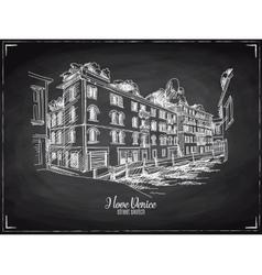 Hand drawn Venice vector image