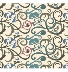 Old stile vintage ornament vector image
