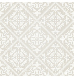 silver vintage wallpaper vector image