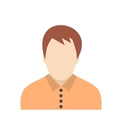 Teenager avatar icon vector