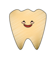 dental care cartoon vector image vector image