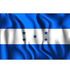 Flag of honduras aspect ratio 2 to 3 vector