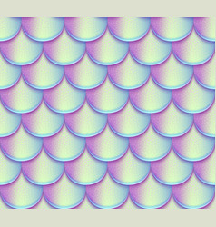 Mermaid tail scales seamless pattern vector