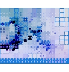 Mosaic background vector