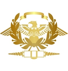 The symbol of the Roman legion vector image