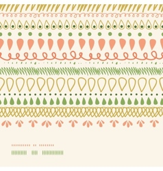 Abstract stripes horizontal seamless pattern vector
