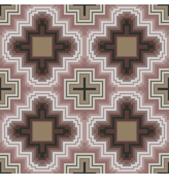 Seamless pattern in soft cocoa hues vector