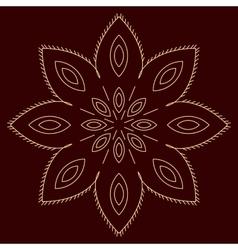 Arabic pattern geometry pattern in vector image