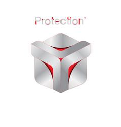 Protection logo vector
