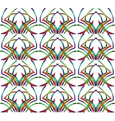 Rainbow Pattern3 vector image