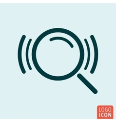 Search loupe icon vector image