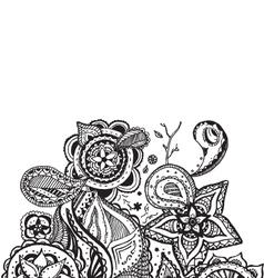 Mandala Doodle Design Element vector image