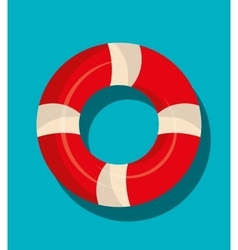 Nautical float graphic icon vector
