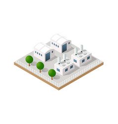 Isometric icon vector