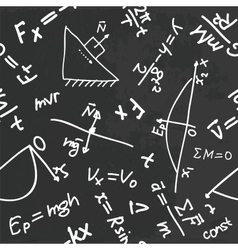 physics pattern vector image vector image