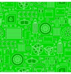 Auto spare parts seamless pattern vector image