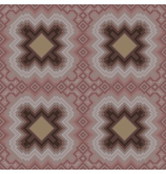 Seamless pattern in cocoa hues vector