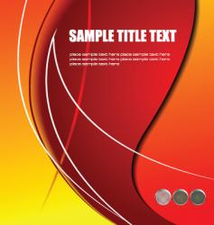 Abstract cover vector