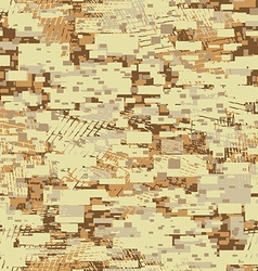 Camouflage desert disruptive block khaki seamless vector