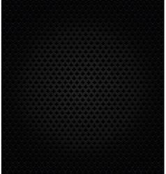 Abstract metallic black background vector image