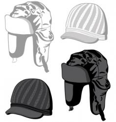 hats illustration vector image vector image
