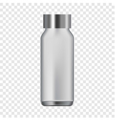 Water bottle icon realistic style vector