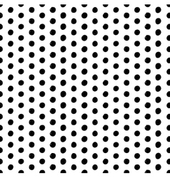 Seamless scribble dotted pattern vector