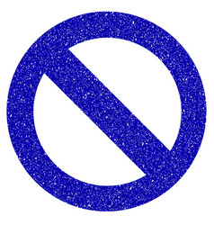 No sign icon grunge watermark vector