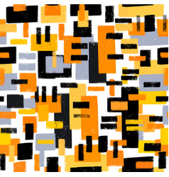 paint strokes seamless pattern vector image