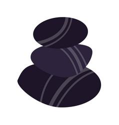 spa stones symbol vector image