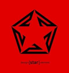 Star logo Award icon Logotype template vector image
