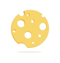 Tasty Cheese vector image vector image