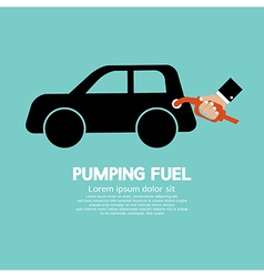 Pumping fuel vector
