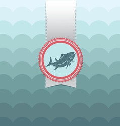 Card tuna vector