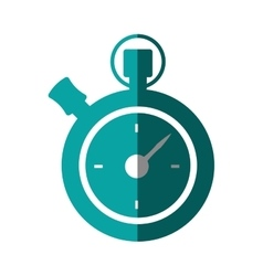 Chronometer counter isolated icon vector