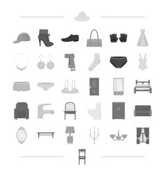 Leather costume jewelery and other web icon in vector
