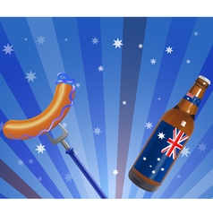 australia day vector image