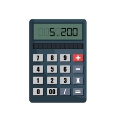calculator isolated design vector image