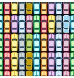 Retro Cars Seamless vector image