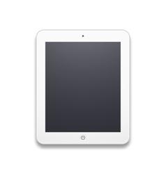 White mobile phone vector