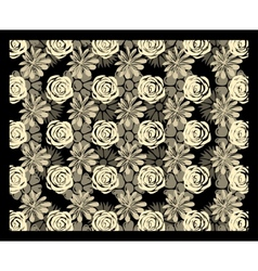 Multi-level floral stereogram vector