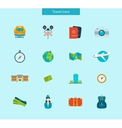 Flat design style modern icons vector
