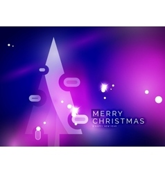Christmas purple abstract background with white vector