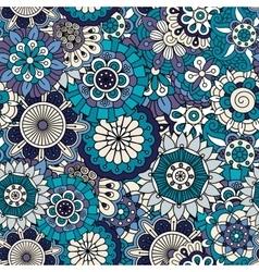 Full framed background in various blue tones vector image