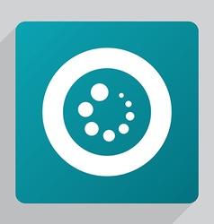 flat loading icon vector image