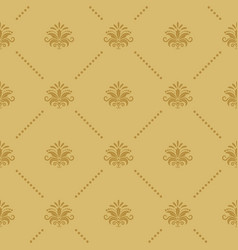 Wallpaper seamless baroque vector