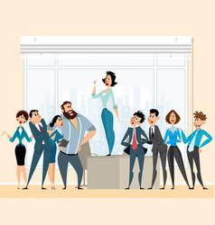 debate in business vector image