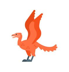 Flat style prehistoric animal vector