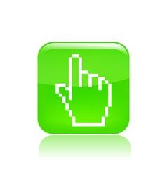 Pixel icon vector