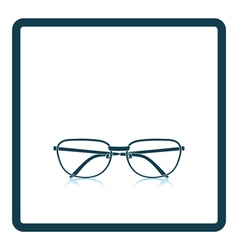 Glasses icon vector